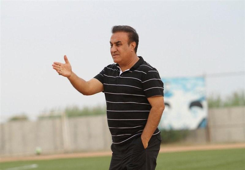 کاظمی: صحبت از صعود به لیگ برتر خیلی زود است، بازی سخت و نفس گیری را بردیم
