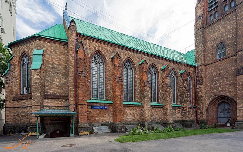 همه چیز درباره کلیسای انگلیکان سنت آندره مسکو