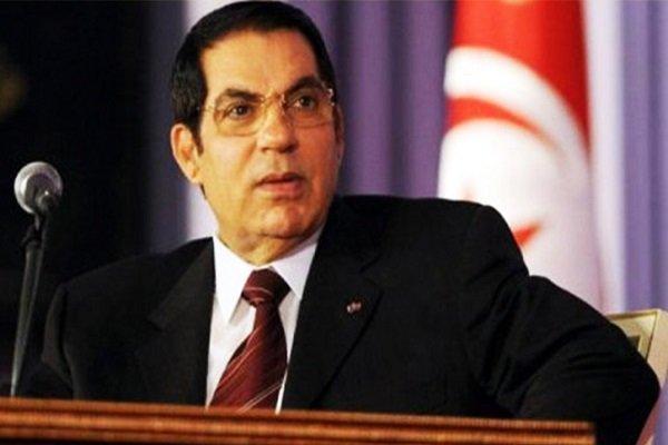 مراسم خاکسپاری دیکتاتور سابق تونس در مدینه برگزار شد