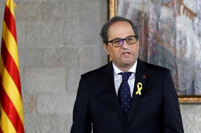 رهبر کاتالونیا برگزاری همه پرسی مجدد را خواهان شد