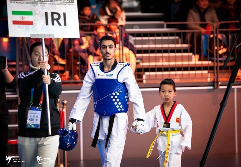فینال مسابقات تکواندو گرندپری، هادی پور به دیدار نیمه نهایی صعود کرد، آرمین نخستین سهمیه تکواندو ایران را کسب کرد